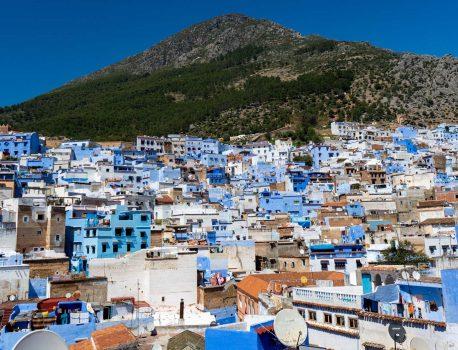 モロッコの代表的な都市
